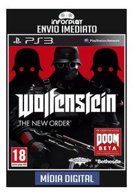 Wolfenstein The New Order Ps3 Psn Envio Imediato