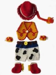 Traje Tejido A Crochet Jessy Toy Story