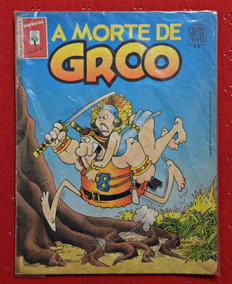 A Morte De Groo | Graphic Novel Nº 14 | Editora Abril