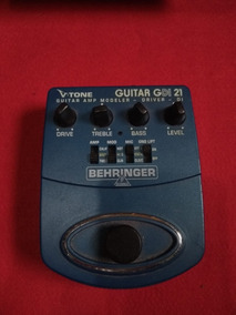 Pedal Para Guitarra Behringer V Tone Guitar Gdi21 Azul
