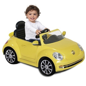 Carro Electrico Beetle Yellow