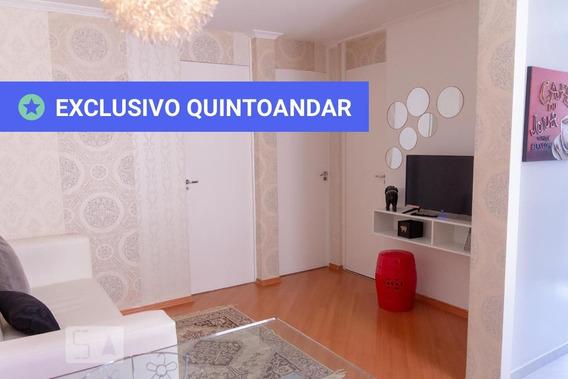Apartamento No 3º Andar Mobiliado Com 2 Dormitórios E 1 Garagem - Id: 892972373 - 272373