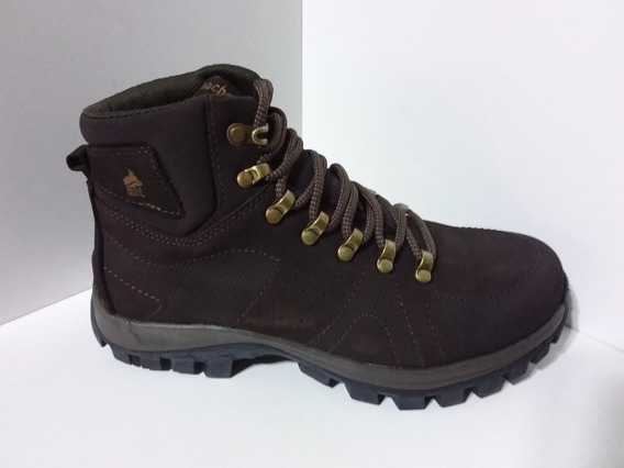 Bota Macboot Onix 02 Carajas Nobuck Cafe