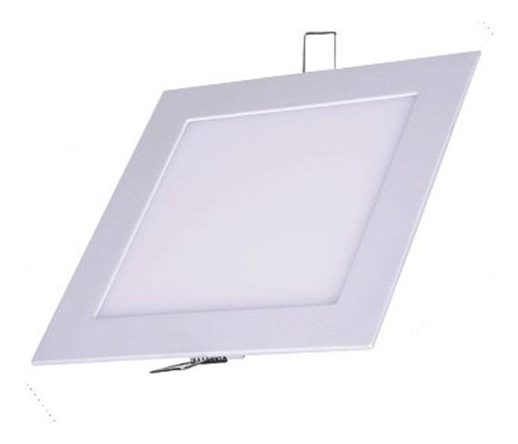 Plafon Luminaria Embutir Teto Painel Led 24w 30x30 Brancfrio