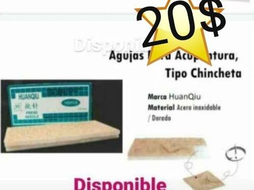 Acupuntura Auriculoterapia Chinchetas X 100 Piezas
