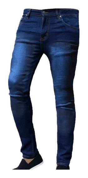 Jeans Hombre Chupin Elastizado Varios Modelos Be Yourself