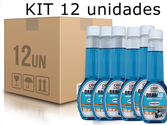 Kit 12 Orbi-ad Aditivo Para Combustível Diesel Or1623