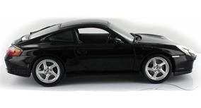 Miniatura Carro Porsche 911 Carrera 4s Preto 1/18 Maisto