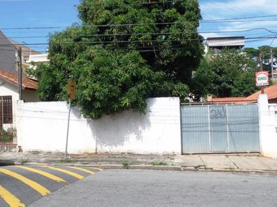 Terreno Residencial C/ Casa Simples À Venda, Vila Ré, São Paulo. - Ca2626