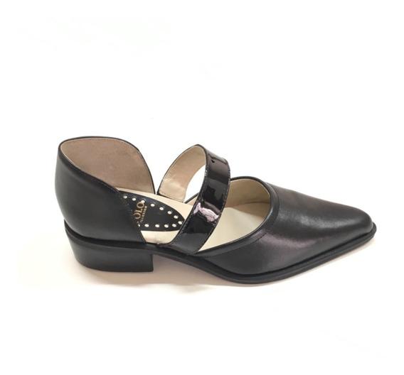 Calzado Zapatos Polo De Dama Color Negro Del 35 Al 40