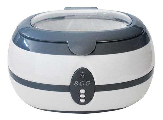 Limpador Ultrassônico De Higienização Joias Etc Hlu-800 110v