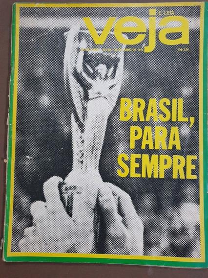 Revista Veja Junho 1970 Copa Do Mundo