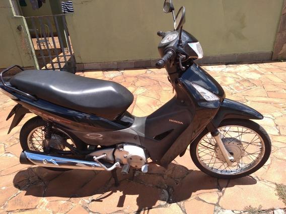Moto Biz 125 Preta, Esd
