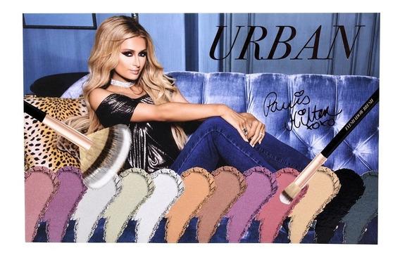 Paris Hilton Paleta Ojos Y Mejillas - Urban Eye & Cheek Pale