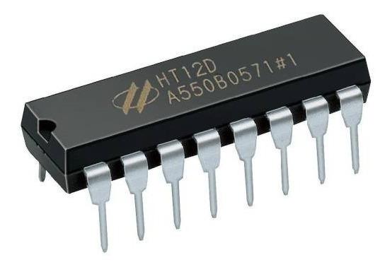 Ht12e Codificador Ht12d Decodificador Control Remoto Rf Ptec