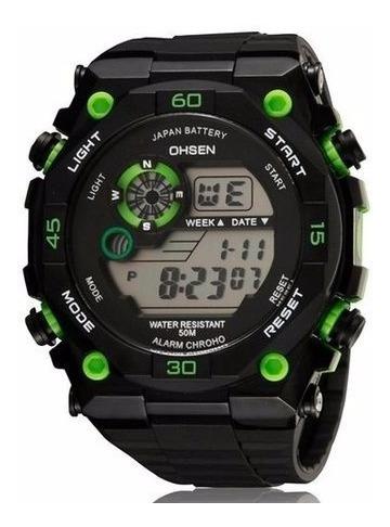 Relógio Esportivo Digital Ohsen A Prova D