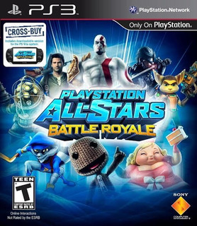 Playstation All-stars Battle Royale Ps3 Disco Original