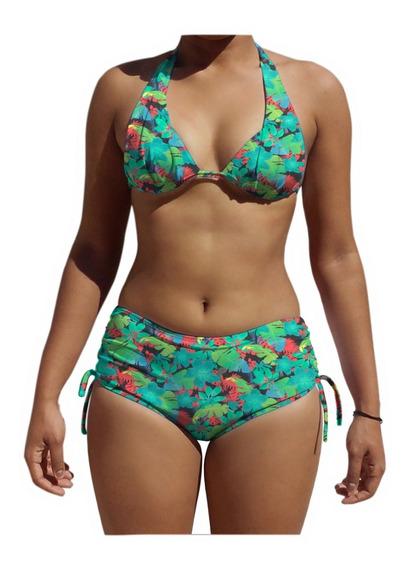 Biquíni Com Bojo Feminino Moda Praia Verão Com Short