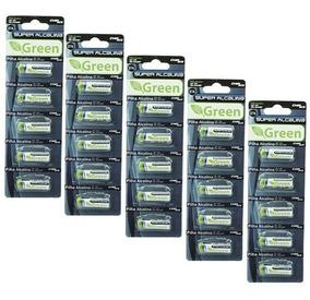Pilha A27 Pack Com 25 Unidades Bateria 27a Alcalina Alkalina
