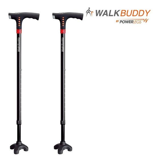 2 Bastónes Con Luz Y Radio Fm- Walk Buddy By Power Legs