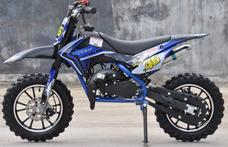 Moto Cross Mini A Gasolina Para Niños Cros Mas Grande