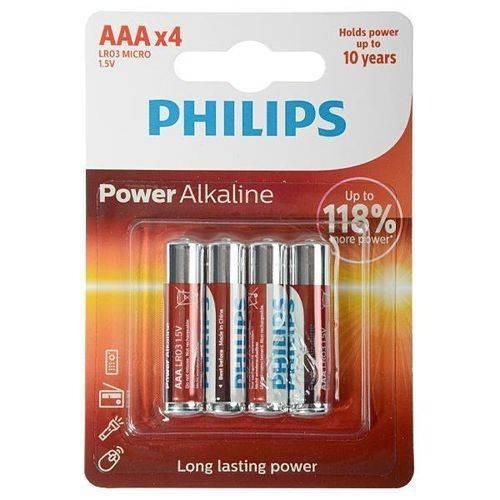 Pilha Alkaline Cartela Com 4 Unidades