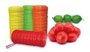Malla Red Empaquetado De Frutas, Verduras Y Artículos Varios