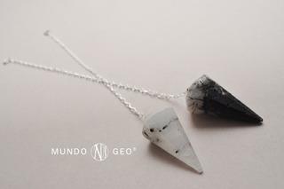 Piedra Péndulo De Cuarzo Turmalinado