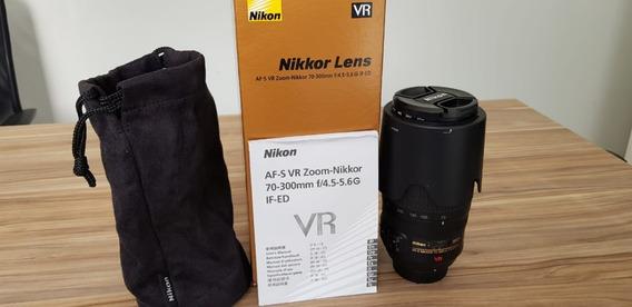 Nikon 70-300mm F4.5-5.6 G Vr Ed Af-sBateria En-el15 Brinde