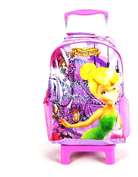 Mochila De Rodinha Tinker Bell Fadas Fairy 51468 Dermiwil