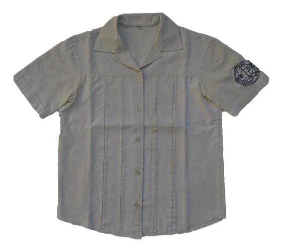 Camisa Escolar Blanca Talle 12 Santo Tomás