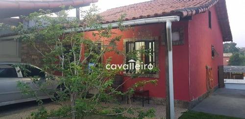 Casa Com 2 Dormitórios À Venda, 62 M² - Centro - Maricá/rj - Ca3831