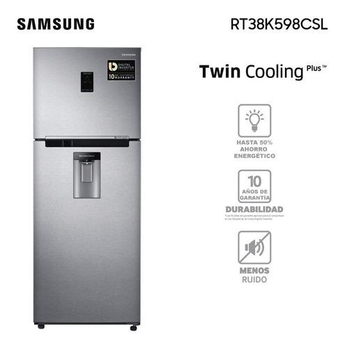 Heladera Samsung Twin Cooling Rt38k Garantía Oficial Samsung