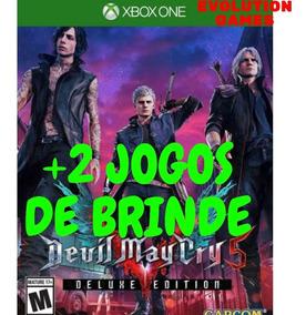 Devil May Cry 5 Xbox One + 2 Jogos De Brinde