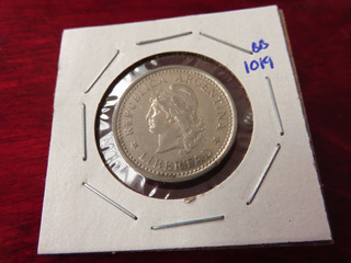 Moneda De 1 Peso Argentino Con Error Ortografico - Monedas y