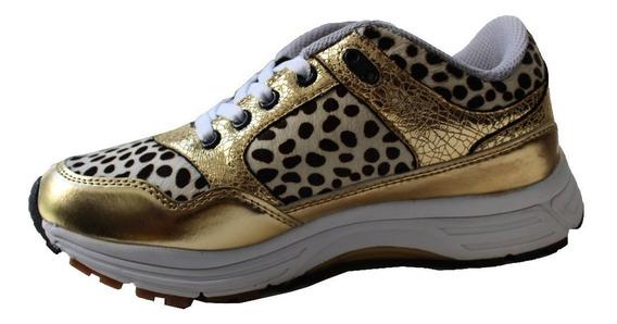 Zapatillas Animal Print Qix Missy Casual Nuevas Promocion