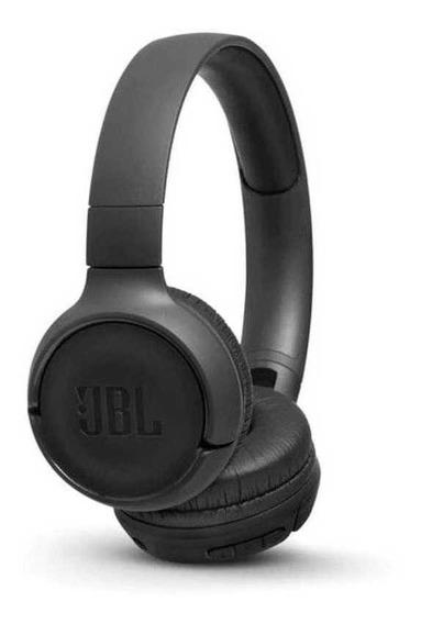 Fone De Ouvido Sem Fio Jbl T500bt Bluetooth Tune Preto - Original + Nota Fiscal E Garantia Nacional