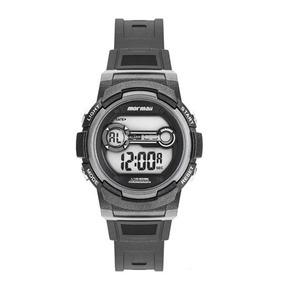 Relogio Infantil Digital Preto Com Cinza Mormaii Mo0200a/8c