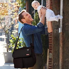 Bolsa Maternidade Skip Hop Funcional Compartimentos Preta