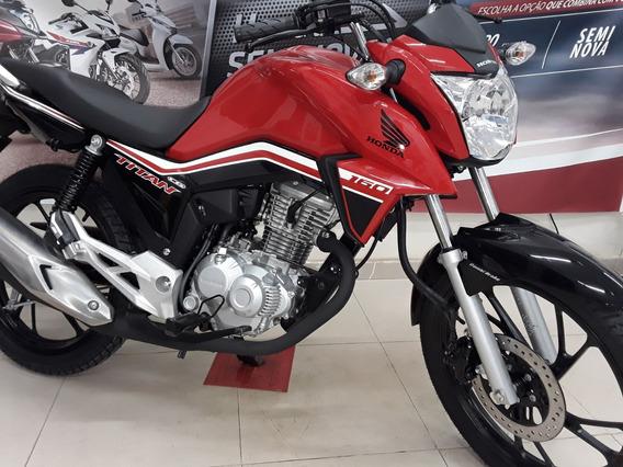 Titan 160cc Flex Cbs, 0-km Inj Eletronica 3-anos De Garantia