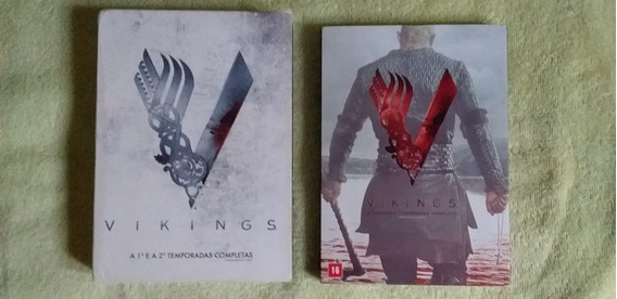 Lote Dvds Vikings Original Frete Grátis