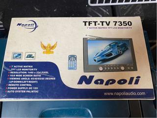Mini Tv 7 Pulgadas Napoli