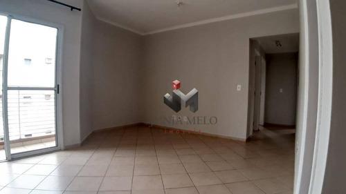 Para Alugar Por R$ 1.100/mês Apartamento Com 2 Dormitórios, 70 M²  - Jardim Botânico - Ribeirão Preto/sp - Ap0059