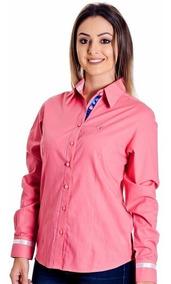 Camisa Feminina Andy - Pimenta Rosada