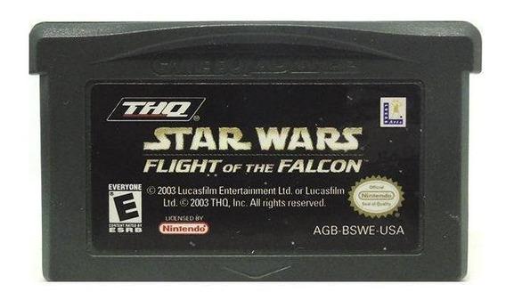 Star Wars Flight Of The Falcon Gba Mídia Física