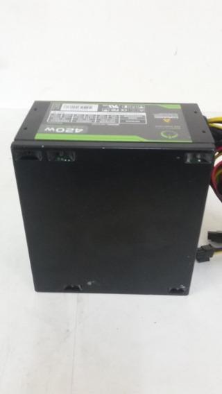 Fonte Real Onepower Modelo Mp420w - Usada