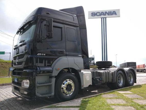 Mb Axor 2544, 6x2, 2015 Scania Seminovos Pr 4c24