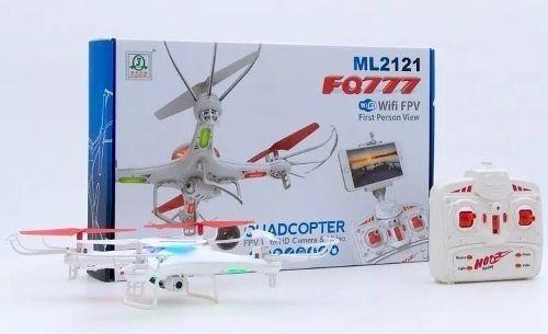 Drone Ml2121 Fq777 - Wi-fi - Fpv Visualização Em Tempo Real
