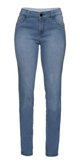 Calça Jeans Feminina Skinny Cintura Alta Scalon 146015