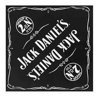Jack Daniels Headwrap De Los Hombres Bandana Headwear 19...